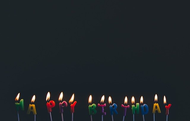 Birthday, Candlelights, Candles, Celebration, Colorful