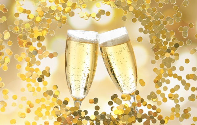 New Year's Eve, Celebration, Party, Birthday, Champagne