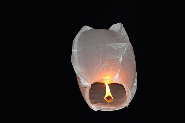 Wish Lanterns, Deans, Lantern, Flying, Celebration