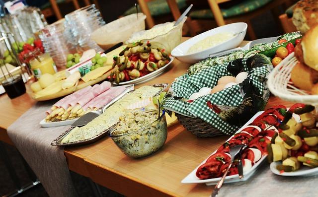Buffet, Festival, Celebration, Eat, Party