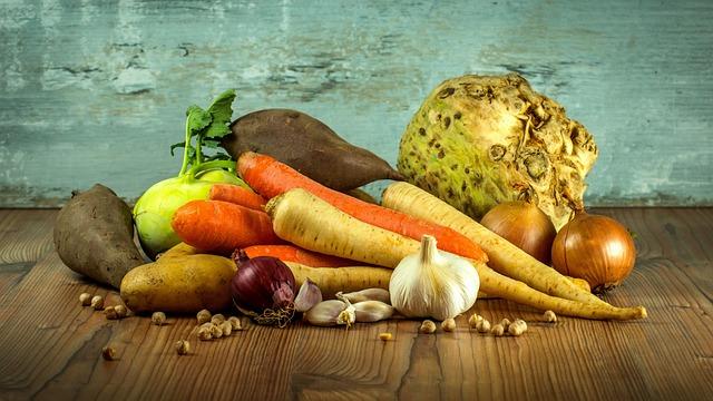 Vegetables, Carrots, Parsley, Garlic, Onions, Celery