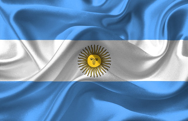 Argentina, Flag, National, Argentina Flag, Celeste