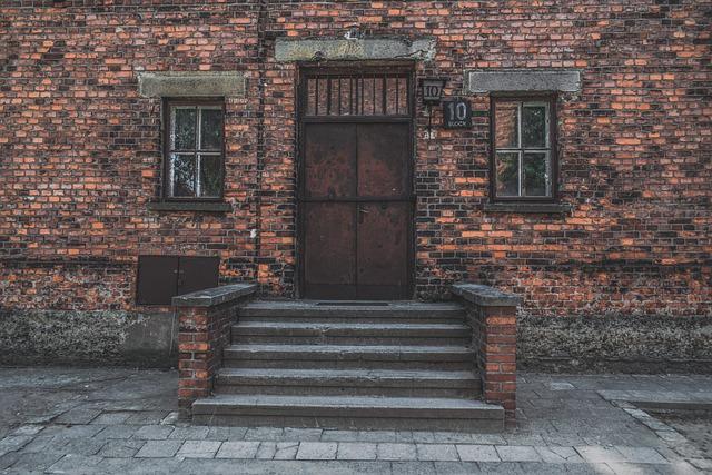 Auschwitz, Concentration Camp, Block 10, Cellblock
