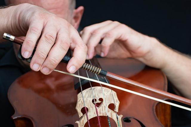 Recording Studio, Cello, Bow, Cellist, Classical