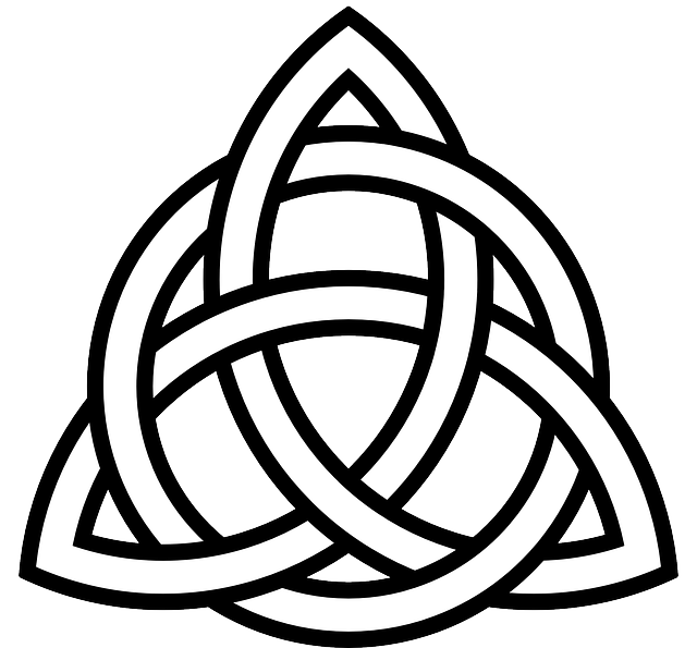 Celtic, Tribal, Knot, Symbol, Triangle, Ornament