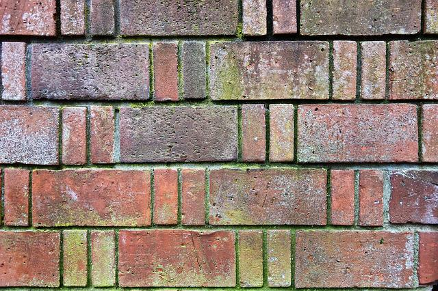 Brick Wall, Wall, Red Brick Wall, Masonry, Cement