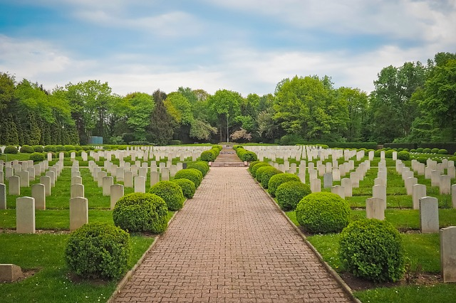 Cemetery, Military Cemetery, Graves, Commemorate