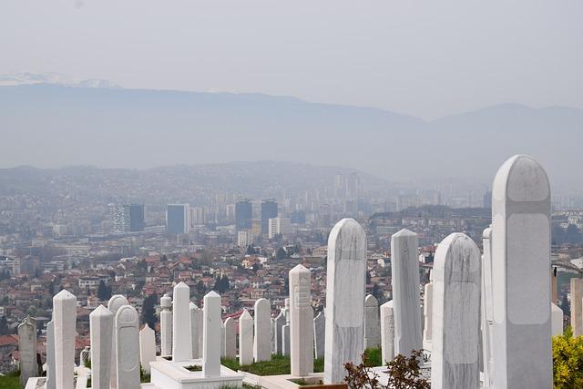 Sarajevo, Bosnia, Cemetery