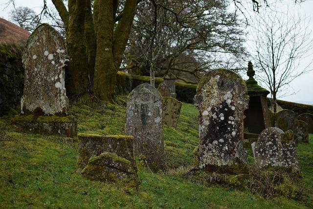 Cemetery, Grave, Tombstone, Stone, Grass
