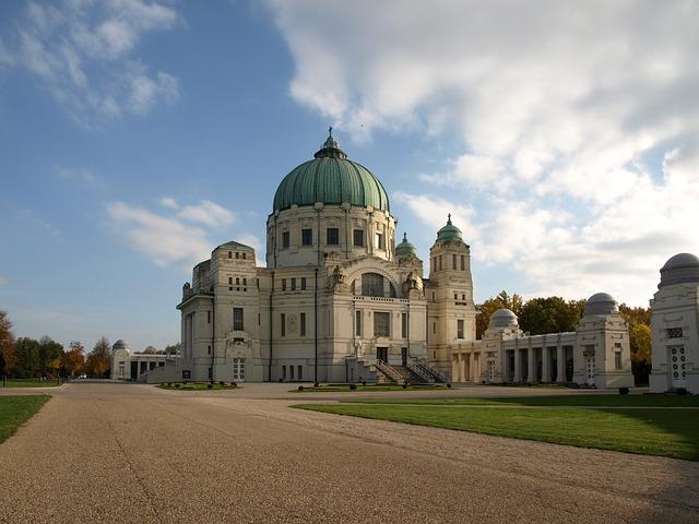Vienna, Wiener, Central Cemetery, Austria, Cemetery