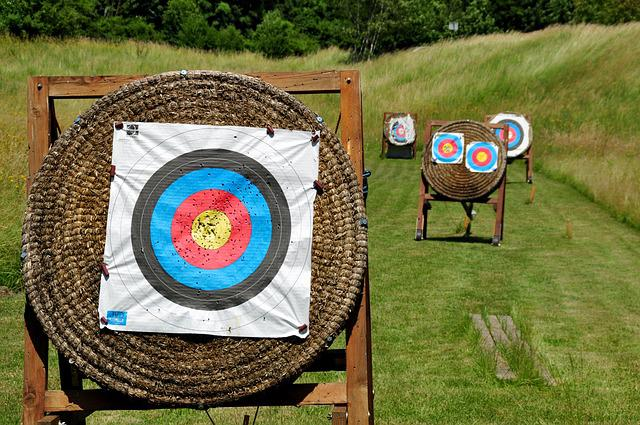 Target, Archery, Arch, Hits, Middle, Objectives, Center