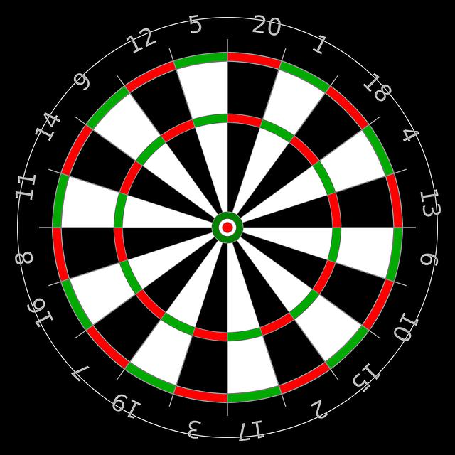Freccete, Center, Darts, Target, Score, Game, Dart