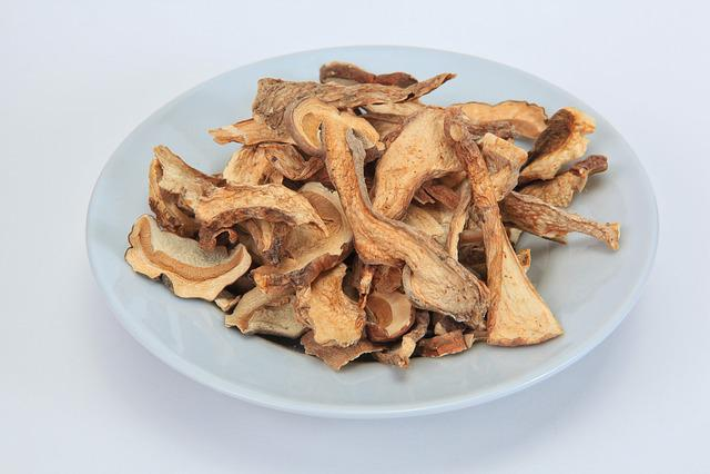Cep, Dried, Mushrooms, Dried Mushrooms, Preservation