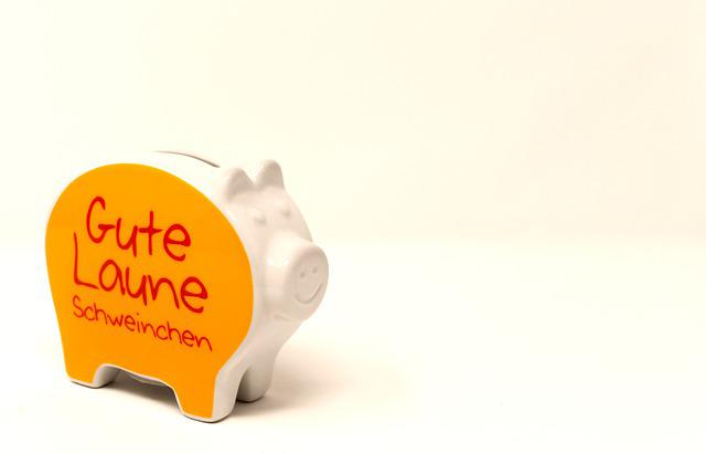 Piggy Bank, Money, Good Mood, Save, Ceramic, Economical