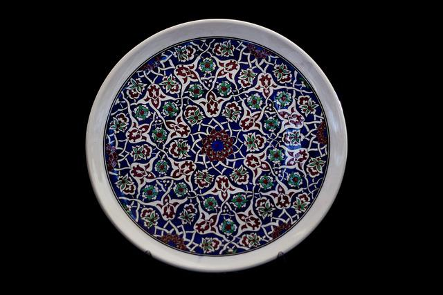Tile, Handicrafts, Increased, Plate, Ceramic, Turkey