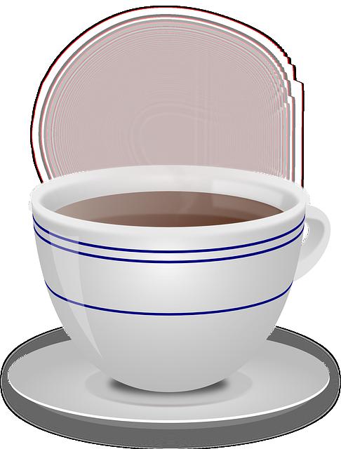 Cup, Coffee, Beverage, Ceramic, Hot, Mug, Saucer, Steam