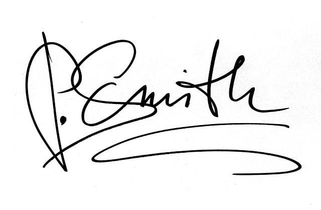 Signature, Handwriting, Signing, Certificate, Document