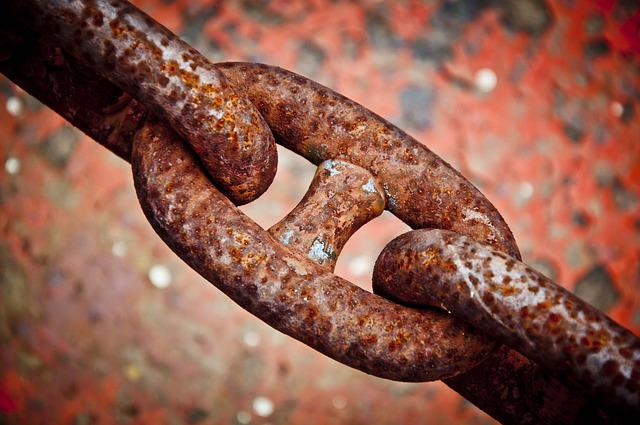 Chain, Rust, Iron, Metal, Macro, Rusty