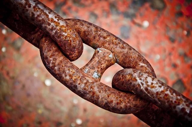 Chain, Rust, Iron, Metal, Macro, Rusty