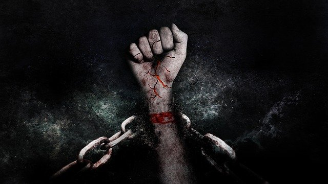 Hand, Faust, Violent, Ward, Victory, Chains, Freedom