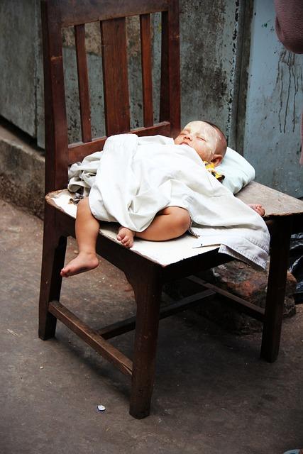 Baby, Sleep, Chair, Infant, Peaceful