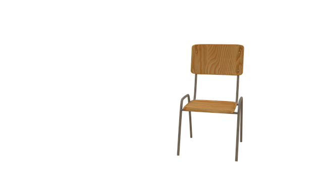 Chair, School, Seating, Classic