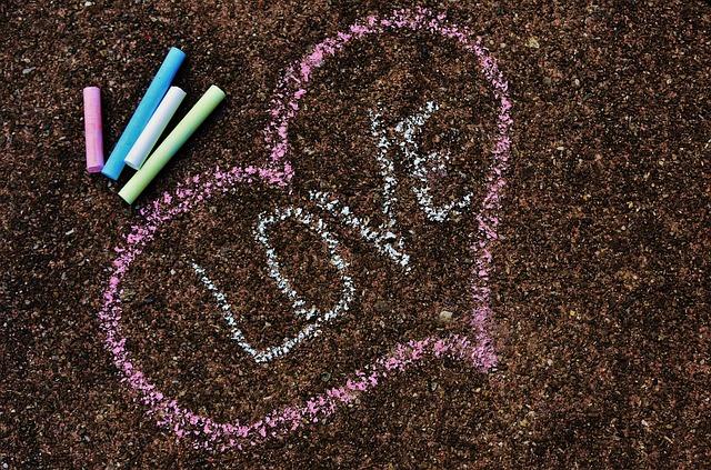 Straßenkreide, Paint, Chalk, Ground, Colorful