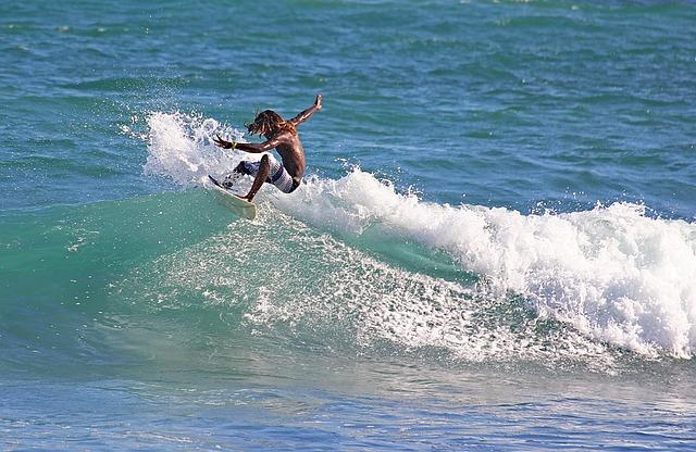 Surfboard, Sea, Adrenaline, Challenge, Freedom, Fun
