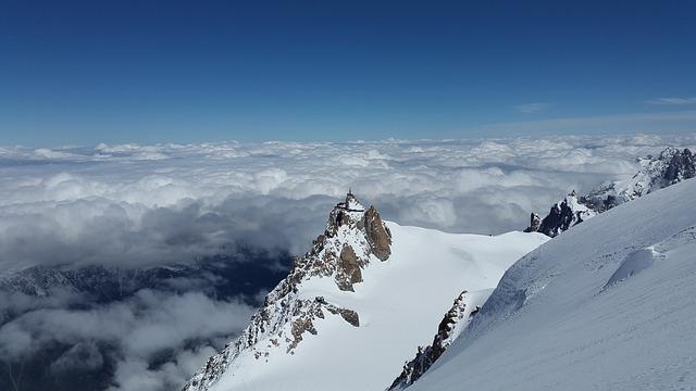 Aiguille Du Midi, Chamonix, Mountain Station