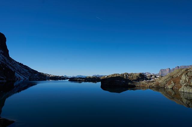 Chamonix, Brevent, Alps, Lac Cornu, Alpine Lake