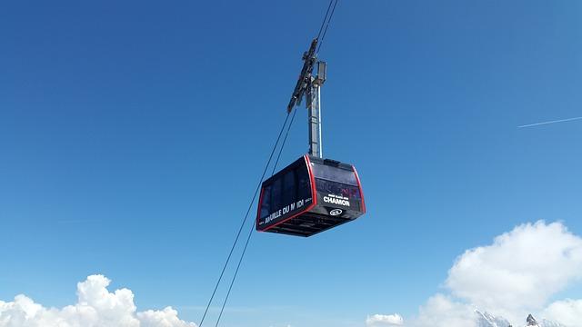 Chamonix, Cable Car, Aiguille Du Midi, Gondola