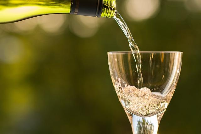 Bottle, Champagne, Drink, Drinking Glass, Macro