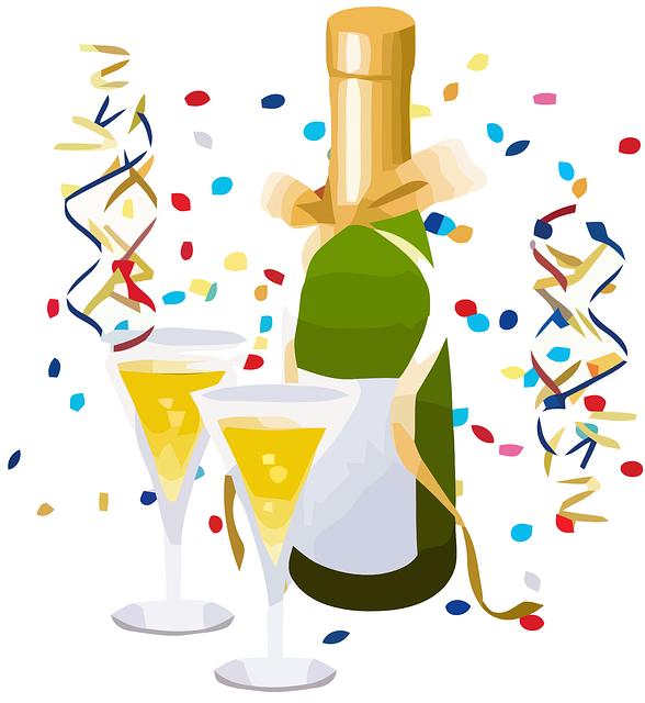 celebrate toast champagne celebration alcohol