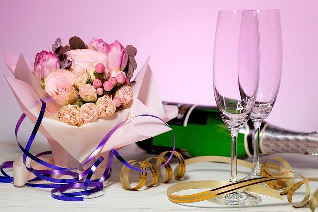 Love, Glass, Celebration, Wine, Anniversary, Champagne