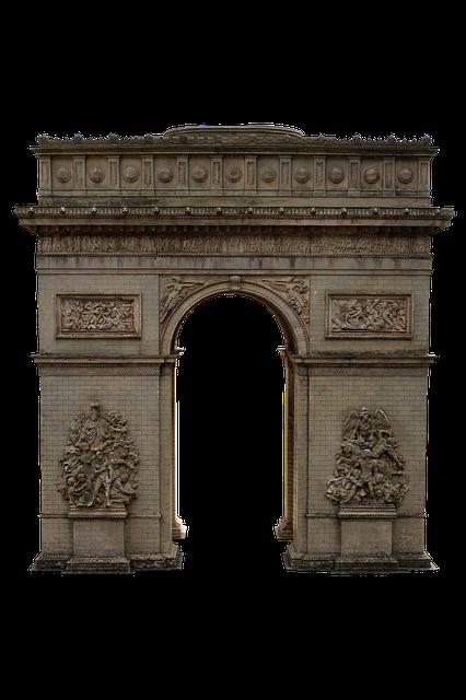 Arc De Triomphe, Paris, France, Champs-elysees