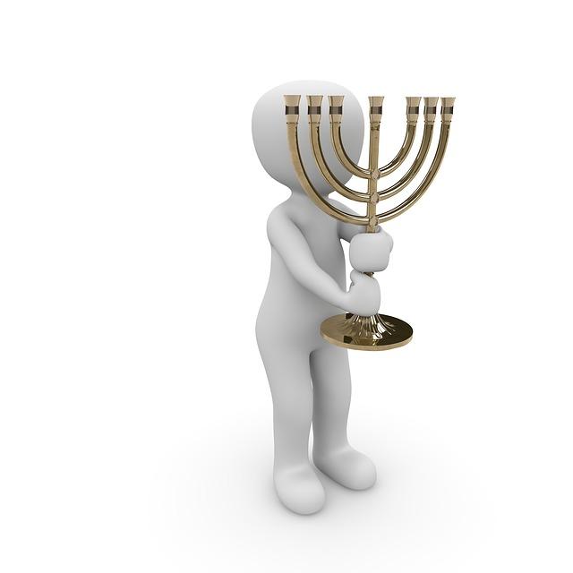 Chandelier, Symbol, Jewish, House Of Worship, Synagogue