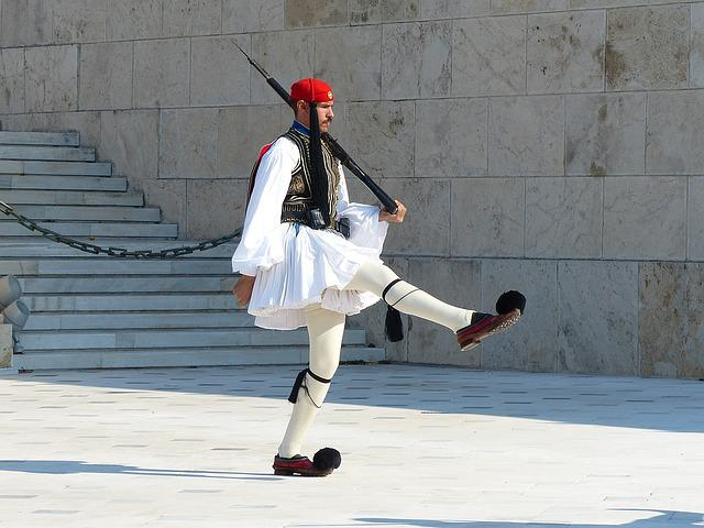 Athens, Changing Of The Guard, Evzone, Greece