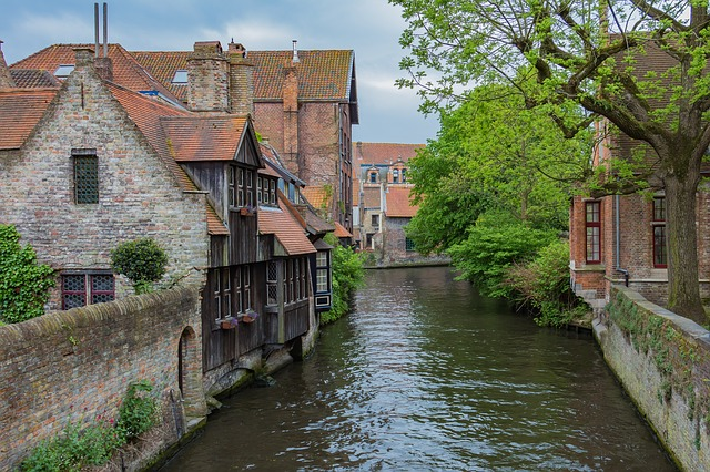 Bruges, Channel, Belgium, Romantic, Old Town, Idyllic
