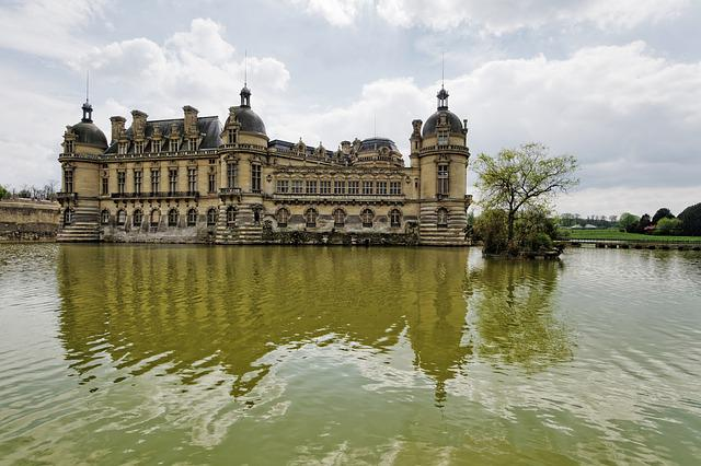 Chateau, Chantilly, France, Picardy, Castle
