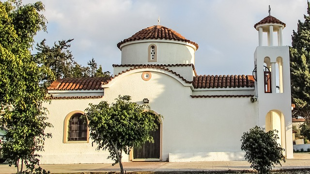Cyprus, Paralimni, Ayios Kornilios, Chapel