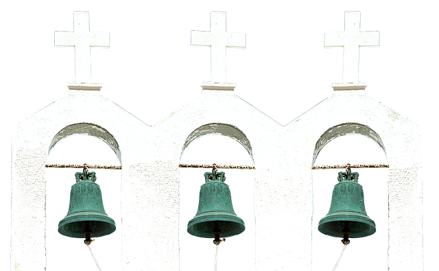 Bell, Steeple, Cross, Church, Chapel, Building