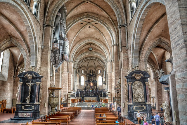 Chapel, Trier, Dom, Church, Old, God, Hdr