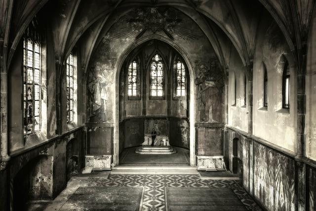 Lost Places, Church, Chapel, Man, Alone, Pforphoto