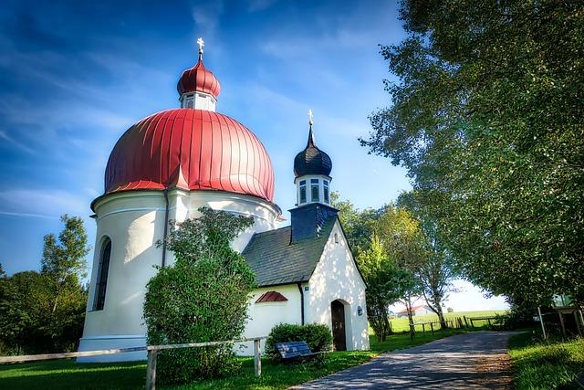 Architecture, Religion, Sky, Church, Tree, Chapel