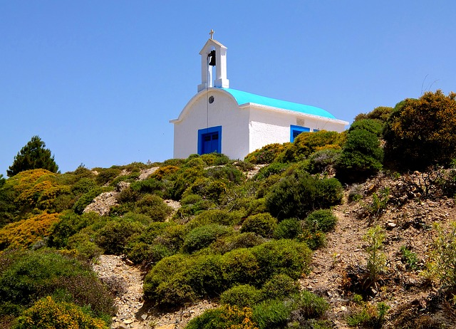 Chapel, Church, Mountain, Bushes, Vacations, Recovery