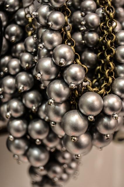 Necklace, Silver, Chaplet, Model, Ornament
