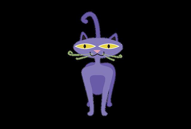 Cat, Clipart, Animal, Cartoon, Pet, Character, Icon