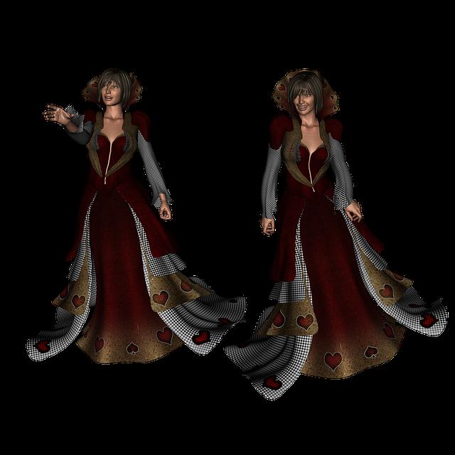 Fantasy, Queen, Dress, Character, Woman, Fashion