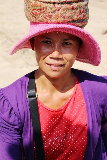 Portrait, Bali, Woman, Indonesian, Face, Characteristic