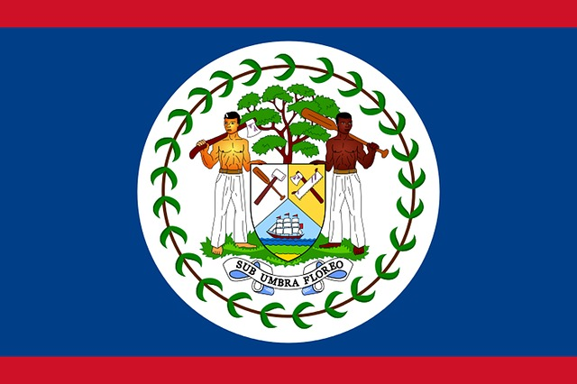 Belize, Flag, Land, Coat Of Arms, Characters, Tradition